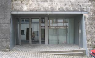 hintere Eingangsfront